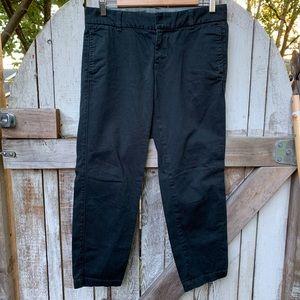 J.Crew | Black Scout Chino Pants